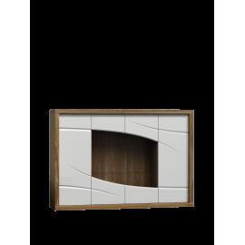 Komoda do salonu POLO 171 cm w kolorze biały/dąb stirling